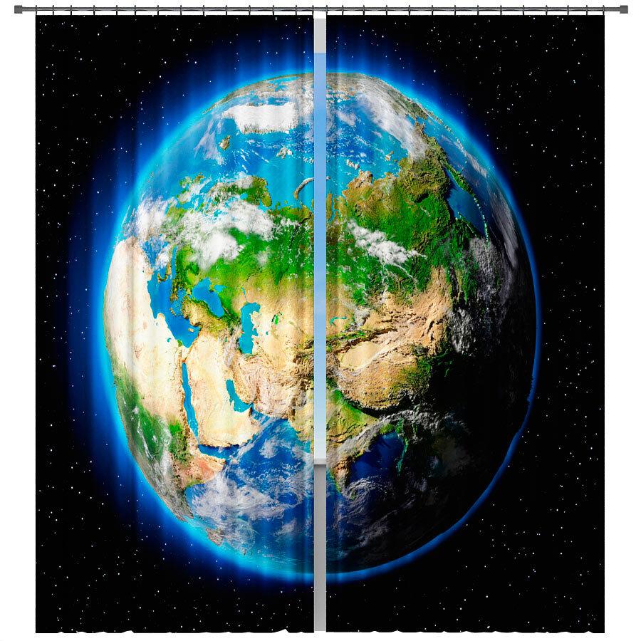 Фотошторы наша планета
